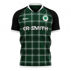 Glasgow Greens 2020-2021 Away Concept Shirt (Libero) - Womens