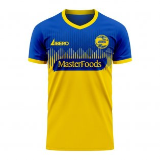 Central Coast Mariners 2020-2021 Home Concept Football Kit (Libero)
