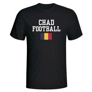 Chad Football T-Shirt - Black