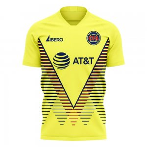 Club America 2020-2021 Home Concept Kit (Libero)