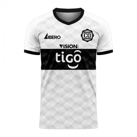 Club Olimpia 2020-2021 Home Concept Football Kit (Libero) - Baby
