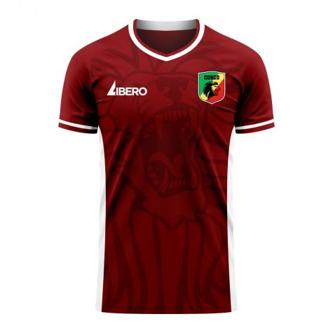 DR Congo 2020-2021 Home Concept Football Kit (Libero)