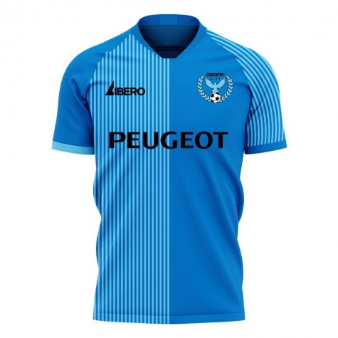 Coventry 2020-2021 Home Concept Football Kit (Libero) - Womens