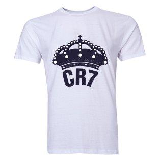 Cristiano Ronaldo CR7 Real Madrid T-Shirt (White)