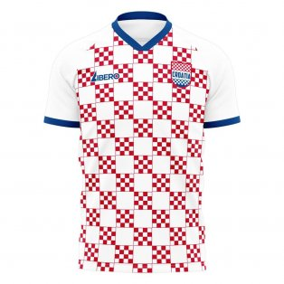 Croatia 2020-2021 Home Concept Football Kit (Libero)