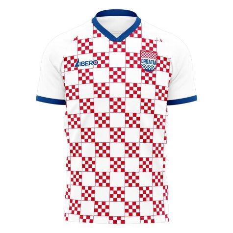 Croatia 2020-2021 Home Concept Football Kit (Libero) - Womens