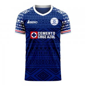 Cruz Azul 2020-2021 Home Concept Football Kit (Libero) - Baby