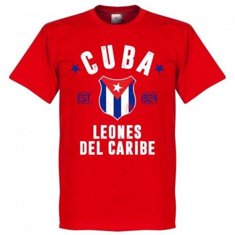 Cuba Established T-Shirt - Red
