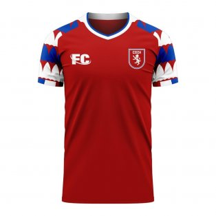 Czech Republic 2020-2021 Home Concept Kit (Fans Culture)
