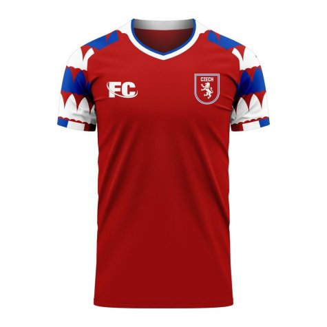 Czech Republic 2020-2021 Home Concept Kit (Fans Culture) - Baby