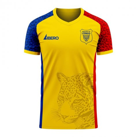 Republic of Congo 2020-2021 Away Concept Football Kit (Libero) - Baby