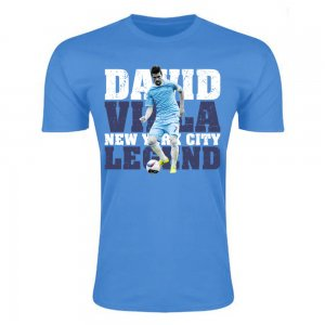 David Villa New York City Legend T-Shirt (Sky Blue) - Kids