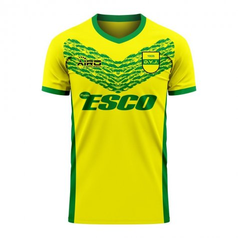 Defensa y Justicia 2020-2021 Home Concept Football Kit (Libero)