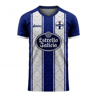 Deportivo La Coruna 2020-2021 Home Concept Football Kit (Libero) - Baby