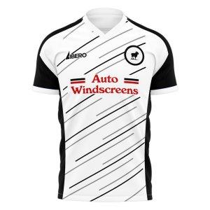 Derby 2020-2021 Home Concept Football Kit (Libero) - Little Boys