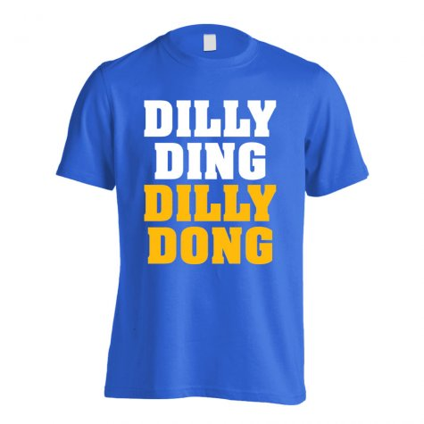 Leicester Claudio Ranieri Dilly Ding T-Shirt (Blue)