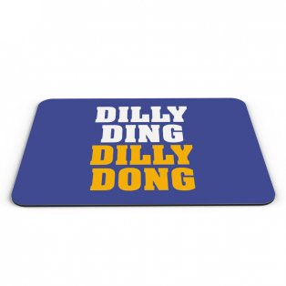 Leicester City Dilly Ding Dilly Dong Mouse Mat (Blue)