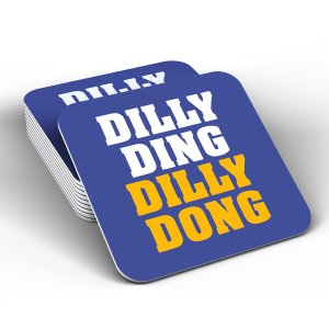 Leicester City Dilly Ding Dilly Dong Coaster (Blue)