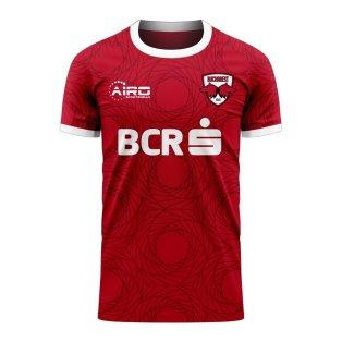Dinamo Bucharest 2020-2021 Home Concept Football Kit (Airo)