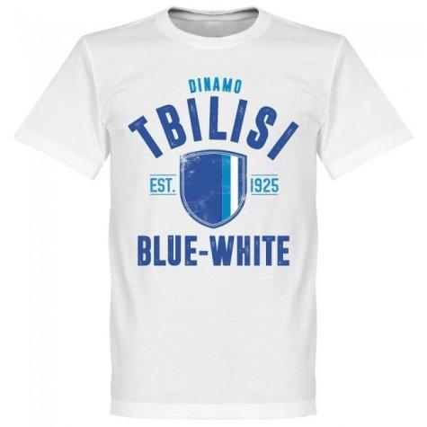 Dinamo Tbilisi Established T-Shirt - White