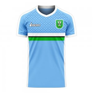 Djibouti 2020-2021 Home Concept Football Kit (Libero) - Baby