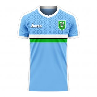 Djibouti 2020-2021 Home Concept Football Kit (Libero) - Womens