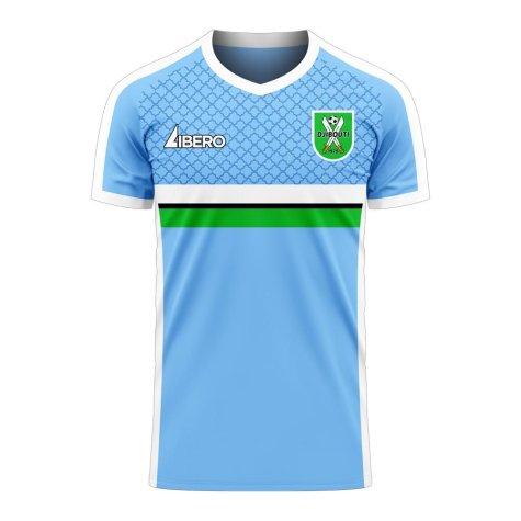 Djibouti 2020-2021 Home Concept Football Kit (Libero) - Little Boys