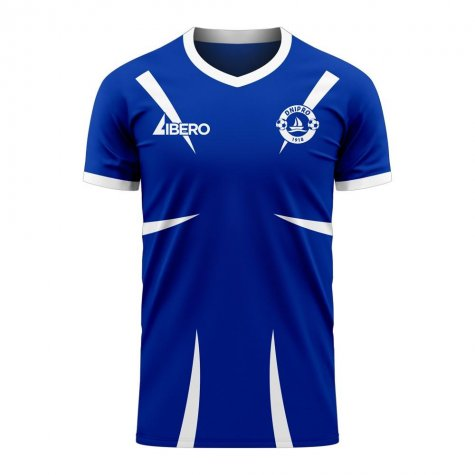 Dnipro 2020-2021 Home Concept Football Kit (Libero) - Little Boys