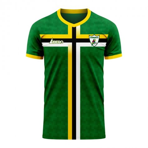 Dominica 2020-2021 Home Concept Football Kit (Libero) - Womens