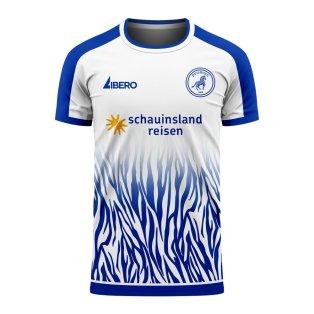 Duisburg 2020-2021 Home Concept Football Kit (Libero) - Womens