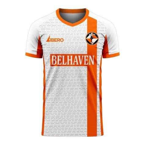 Dundee Tangerines 2020-2021 Away Concept Shirt (Libero) - Baby