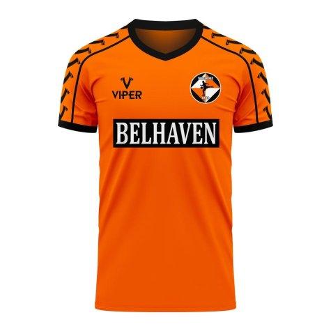 Dundee Tangerines 2020-2021 Home Concept Shirt (Viper) - Womens
