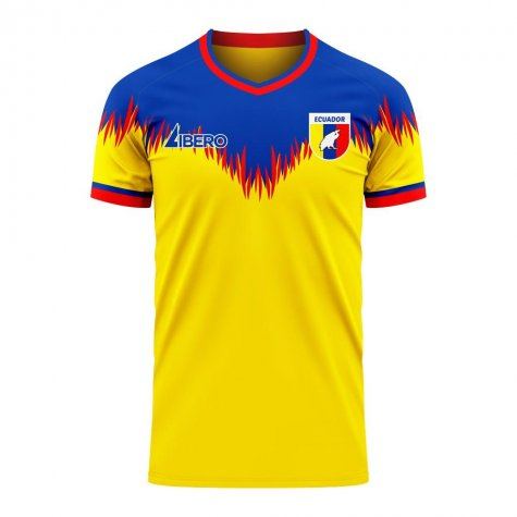 Ecuador 2020-2021 Home Concept Football Kit (Libero) - Womens