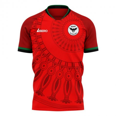 Egypt 2020-2021 Home Concept Football Kit (Libero)