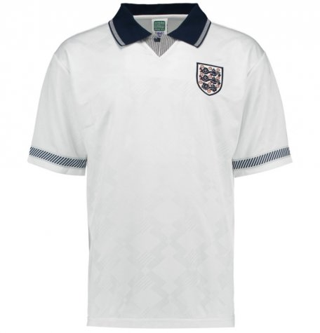 Score Draw England 1990 Home Shirt
