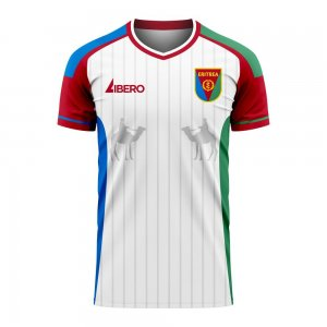 Eritrea 2020-2021 Home Concept Football Kit (Libero) - Womens