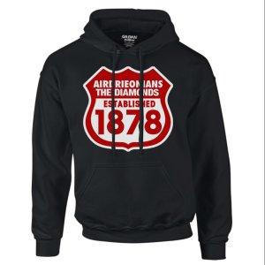 Airdrieonians Established 1888 Hoody (Black)