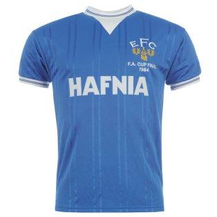 Score Draw Everton 1984 Home Shirt