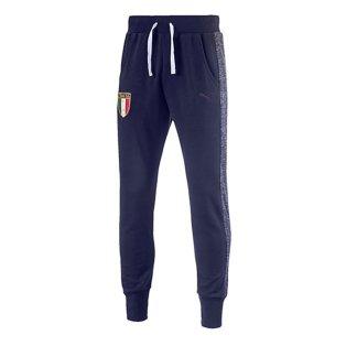 2017-2018 Italy Puma Sweat Pants (Peacot) - Kids