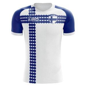 Finland 2020-2021 Home Concept Football Kit (Airo) - Little Boys
