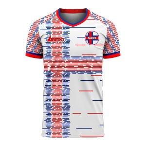 Faroe Islands 2020-2021 Home Concept Football Kit (Libero) - Kids