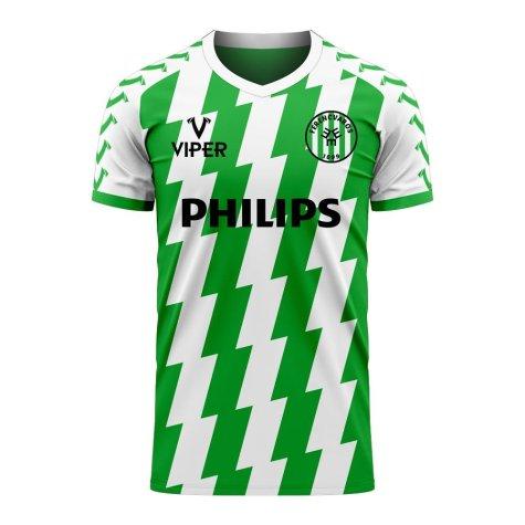 Ferencvaros 2020-2021 Home Concept Football Kit (Viper) - Womens