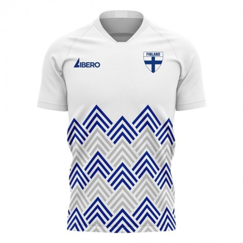Finland 2020-2021 Pre-Match Concept Football Kit (Libero) - Little Boys