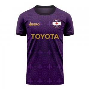 Fiorentina 2020-2021 Home Concept Football Kit (Libero) - Little Boys