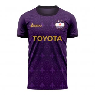 Fiorentina 2020-2021 Home Concept Football Kit (Libero)