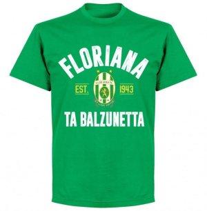 Floriana Established T-shirt - Green