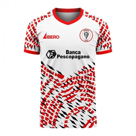 Foggia 2020-2021 Away Concept Football Kit (Libero) - Little Boys