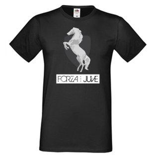 Forza Juventus T-Shirt (Black) - Pirlo 21
