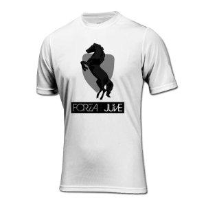 Forza Juventus T-Shirt (White)