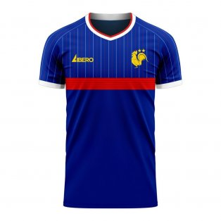 France 2020-2021 Home Concept Football Kit (Libero) - Womens